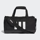 【現貨】Adidas 3-Stripes Duffel (XS) 旅行袋 手提袋 健身 黑【運動世界】GE1238