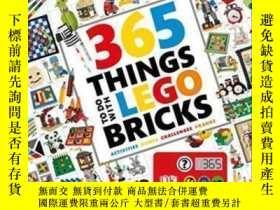 二手書博民逛書店365罕見Things To Do With Lego Bricks-365件樂高積木玩具Y436638 Si