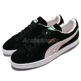 Puma 休閒鞋 Suede Classic 麂皮 黑 白 基本款 男鞋 女鞋 情侶鞋【ACS】 35263403