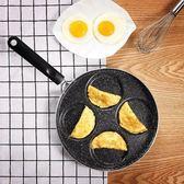 煎蛋鍋不黏平底鍋家用迷你煎雞蛋荷包蛋漢堡蛋餃鍋模具煎蛋器神器  igo 居家物語