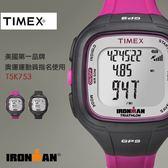 【人文行旅】TIMEX | 天美時 T5K753  IRONMAN GPS  美國鐵人專業路跑錶