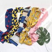 領巾圍巾長條絲帶領結領帶細窄chic風