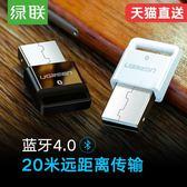 藍芽適配器藍芽適配器4.0電腦音頻髮射臺式機耳機音響aptx手機接收器 爾碩數位3c