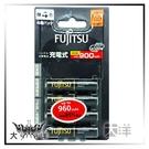 ◤大洋國際電子◢ FUJITSU 富士通 4號 高容量 低自放鎳氫充電電池 960mAh 4入裝 HR-4UTHC/4B
