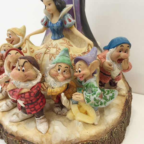 【震撼精品百貨】Disney 迪士尼~Enesco精品雕塑-白雪公主大集合塑像【共1款】