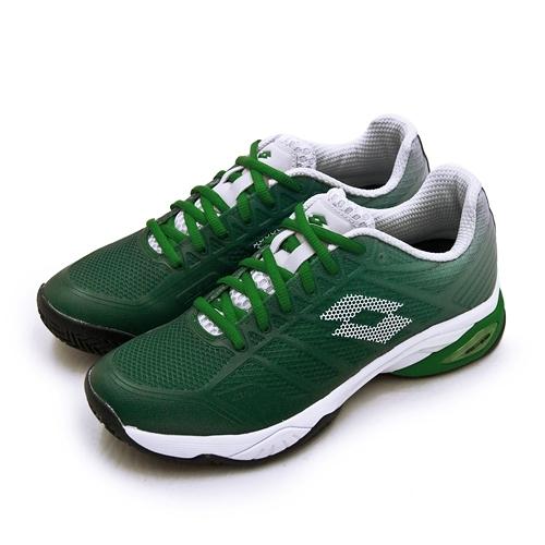 LIKA夢 LOTTO 進階旗艦級網球鞋 MIRAGE 300 II SPD系列 紅土 綠白 2136285YD 男