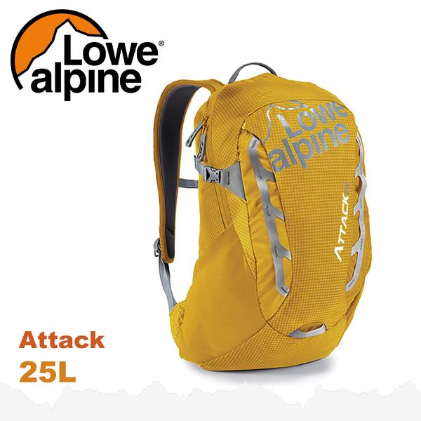 【 LOWE ALPINE 英國 Attack 25 休閒後背包《金黃》25L】FMP-42/雙肩背包/登山包/健行/旅行★滿額送
