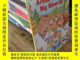 二手書博民逛書店Arthur罕見and the Big Blow-UpY1622