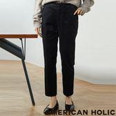 ❖ Winter ❖ 燈芯絨荷葉口袋錐形褲 - AMERICAN HOLIC