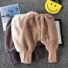 寶寶加絨褲子大pp褲秋冬季洋氣雙層嬰兒哈倫褲男女童小童冬裝外穿 小山好物