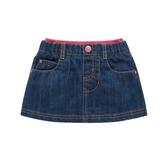 mothercare 亮粉伸縮單寧短裙-趣味樂園-藍色(M0H2351)06~36M、5A