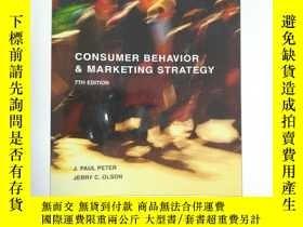二手書博民逛書店consumer罕見behavior &marketing st