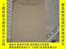 二手書博民逛書店1907外文原版罕見A REMARKABLE FOSSLL TR