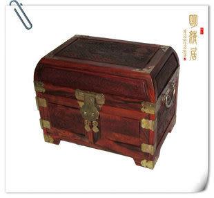紅酸枝 高檔多層紅木首飾盒