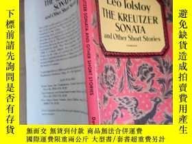 二手書博民逛書店leo罕見tolstoy the kreutxer sonata