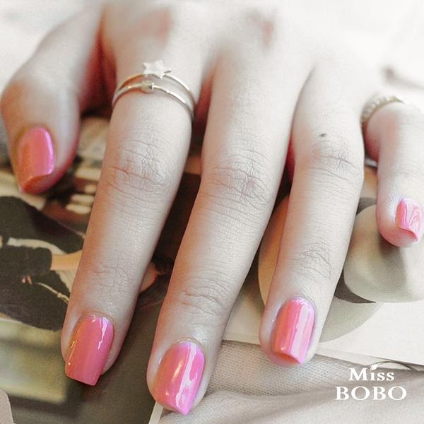 Miss BOBO水性可剝持色指彩 柔玫瑰