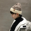 保暖帽 帽子男潮秋冬天韓版加絨保暖針織帽男毛線帽男士冬天包頭冷帽潮