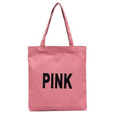 購物袋 帆布包 側背包 手提袋 單肩包 環保袋 肩背包 拉鍊袋 提袋 字母帆布袋(1個)【J049】MY COLOR