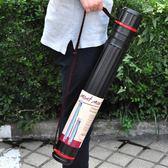 畫筒大號字畫桶收納桶伸縮裝畫筒收納畫材
