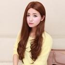 整頂假髮(長髮)-中分時尚氣質知性女假髮3色73ef36【時尚巴黎】