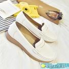 護士鞋 護士鞋白色女春夏季新款韓版平底院...