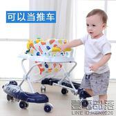 嬰兒童寶寶學步車6/7-18個月多功能防側翻手推可坐帶音樂助步車【壹電部落】