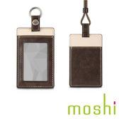 {原廠公司貨}Moshi Badge/ID Holder 證件套(橡木棕)