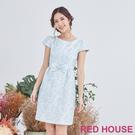Red House 蕾赫斯-花朵蝴蝶結洋...