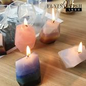 FLYINGFISH 香薰蠟燭DIY材料 礦石寶石蠟燭模具 蠟片模具 七夕情人節特惠