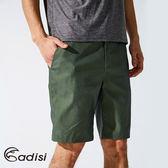 ADISI 男Urban彈性休閒短褲AP1711025 (S~2XL) / 城市綠洲專賣(撥水、輕質柔軟、螢光紗、四向彈)