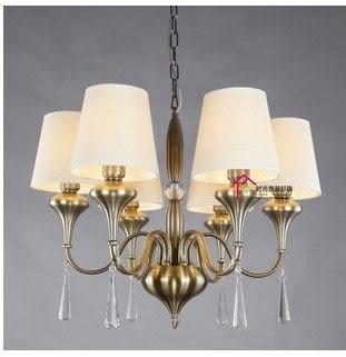 設計師美術精品館地中海歐式青古銅美式鄉村北歐簡約現代客廳燈飾餐廳燈具鐵藝吊燈