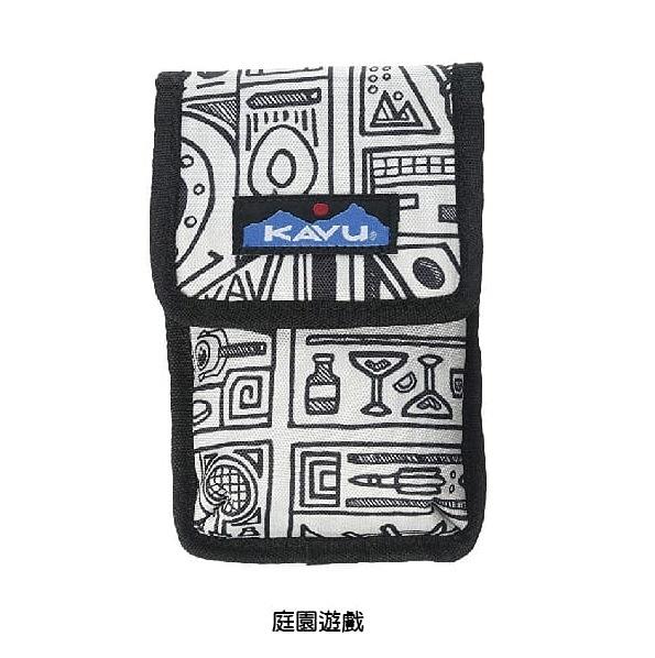 [好也戶外]KAVU Phone Booth 魔鬼氈手機袋 庭院遊戲/日落區塊