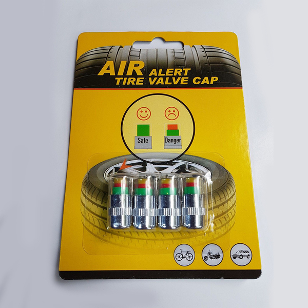 胎壓偵測帽 4入 氣嘴蓋 氣門嘴帽 2.4BAR