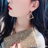 百搭耳環2020新款潮925銀針歐美夸張韓國長款氣質個性耳釘耳飾女 漾美眉韓衣