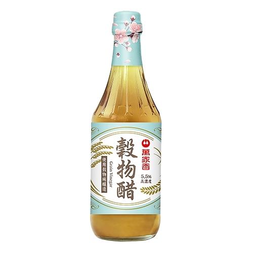 萬家香穀物醋600G【愛買】