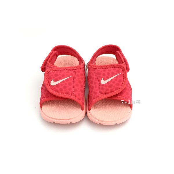 小童NIKE SUNRAY ADJUST 4 (TD) 輕量運動涼鞋寶寶涼鞋 《7+1童鞋》 E891 粉色