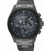 【分期0利率】SEIKO 精工錶 Criteria 光動能 三眼錶 藍寶石水晶鏡面 43mm原廠公司貨 SSC693P1