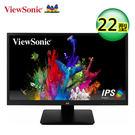 【ViewSonic 優派】22型寬螢幕(VA2210-H) 【買再送折疊收納購物袋】