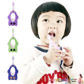 寶寶用品 乳牙保健 護齒軟毛 動物造型  嬰兒牙刷-JoyBaby