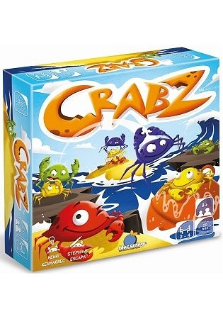 【Blue Orange Games】螃蟹快走 CRABZ 桌上遊戲