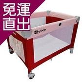 TONYBEAR 嬰兒遊戲床-紅色【免運直出】
