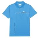 KAPPA義大利型男吸濕排汗速乾 POLO 短袖衫 義大利藍 32165YWX7F
