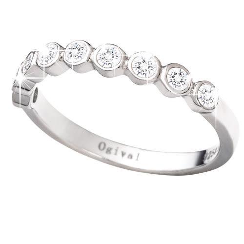 Ogival 愛其華 ♥ 希望之光 八心八箭戒指