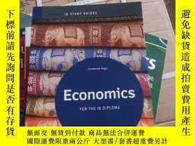 二手書博民逛書店Economics罕見FOR THE IB DIPLOMA 實物