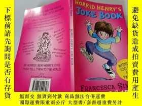 二手書博民逛書店Horrid罕見Henrys joke book: 亨利的笑話Y200392