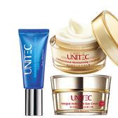 UNITEC彤妍 乾燥肌海洋膠原保濕組 (玻尿酸精華30ml+海洋膠原乳霜+ 海洋膠原日霜)