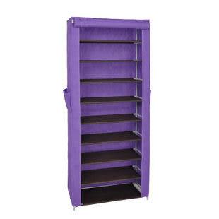 9層DIY防塵鞋櫃