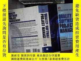 二手書博民逛書店Quality罕見Software Project Manage
