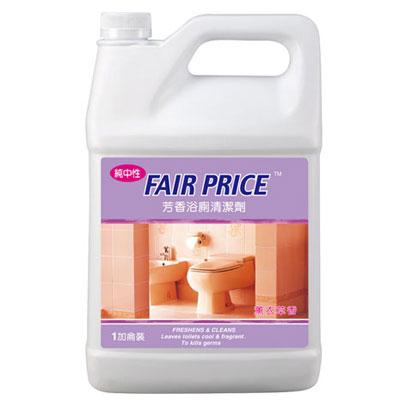【奇奇文具】妙管家 F-BFCG-E 浴廁芳香清潔劑1加侖中性薰衣草
