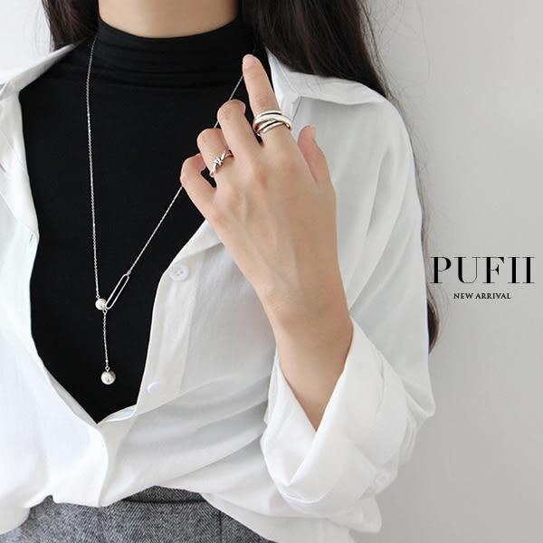 PUFII-戒指 交叉環戒指-0418 現+預 春【CP16521】